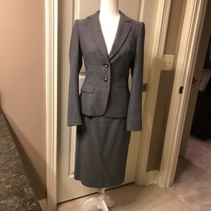 Escada suit with beautiful and flattering detail